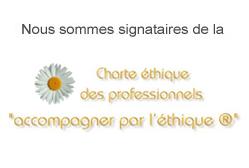 Logo charte éthique des professionnels